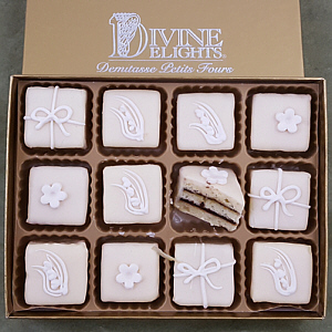 Divine Delight Petit Four 12 pc