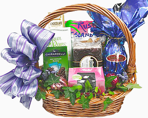 Easter gift baskets and flowers fancifull gift baskets easter favorites negle Images