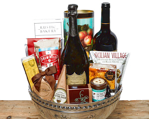 Champagne gift baskets at fancifull gift baskets fit for a king gift basket solutioingenieria Images