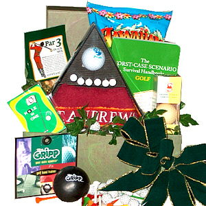 Tee It Up Golf Gift Basket