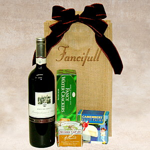 Wine Caddy Gift Basket, Corporate gift baskets