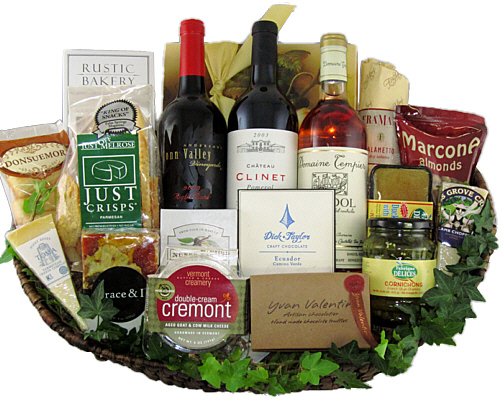 Fancifull gift baskets los angeles hollywood california wine gift baskets negle