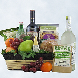 Warm Welcome Wine Gift Basket