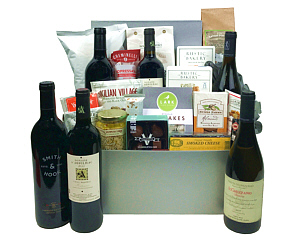 Wine gift baskets 300 and up fancifull gift baskets impressive wine gift basket negle Images