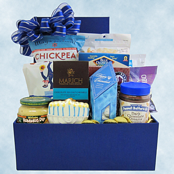 Hanukkah gift baskets by fancifull happy chanukah gift basket negle Image collections