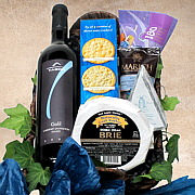 Kosher Wine and Cheese Gift Basket