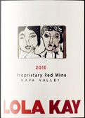 Lola Kay Proprietary Red Wine