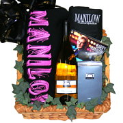Barry Manilow Gift Basket