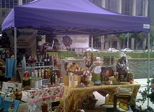 Fancifull farmers market booth