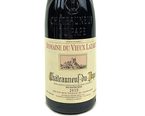 Chateauneuf-du-pape French wine