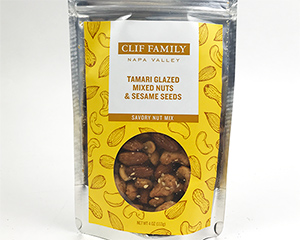 Tamari Glazed Mixed Nuts and Sesame Seeds