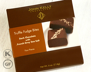 John Kelly 4 pc Truffle Fudge Bites