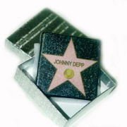 Hollywood Star Paperweight