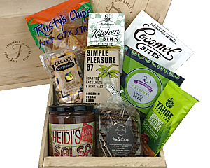 Special diet gift baskets by fancifull vegan delicious gift basket negle Images