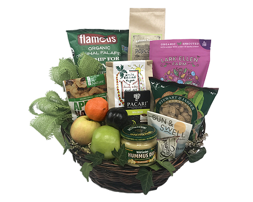 Special diet gift baskets by fancifull vegan supreme gift basket negle